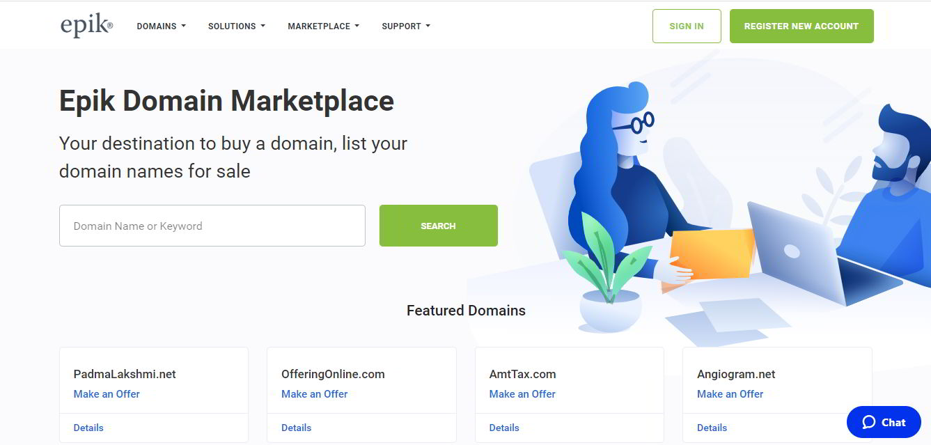 Best Place to Sell Domains : Epik Marketplace